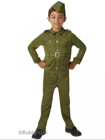 WWII soldier costume