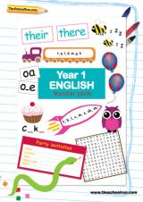 Year 1 English booster pack