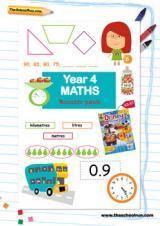 Year 4 Maths booster pack