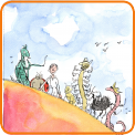 James and the Giant Peach, Quentin Blake