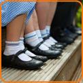 Children's feet