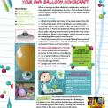 Build your own balloon hovercraft