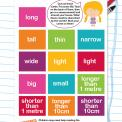 Measurement terms worksheet