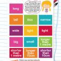 Measurement terms worksheet