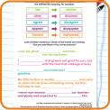Spelling patterns: the prefix dis- worksheet