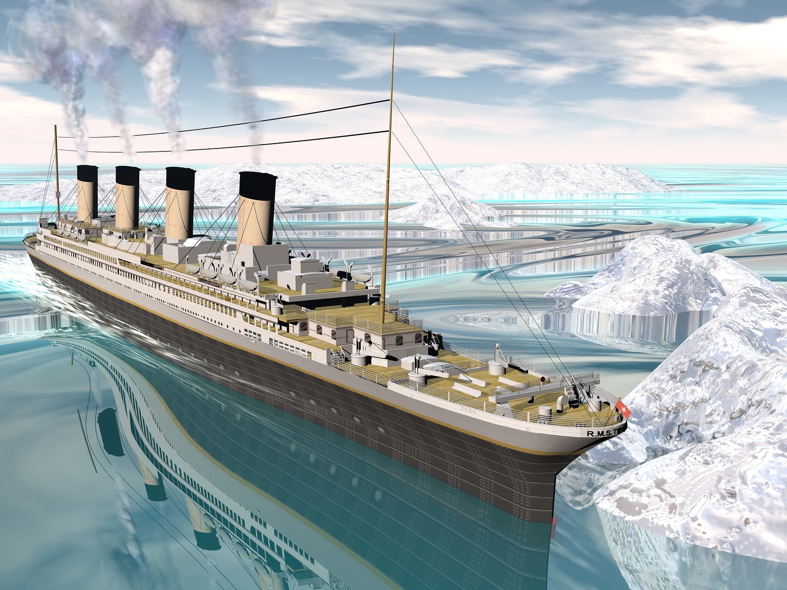 aaae6490 Titanic homework help | The sinking of the Titanic explained for ...