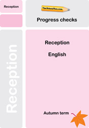 Reception English progress check