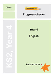 Year 4 English progress check
