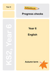 Year 6 English Progress checks