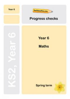 Y 6 maths progress check