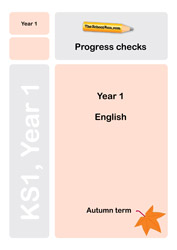 Year 1 English Progress Check