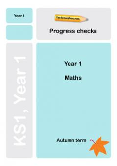 Year 1 Maths Progress Check