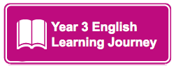 Year 3 English learning journey