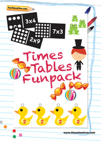 Times tables funpack