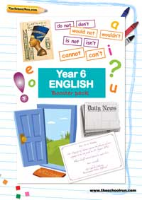 Year 6 English booster