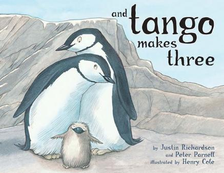 Front cover of the educational children's book, And Tango Makes Three