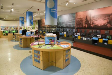 educational activities at the Museum of Cardiff