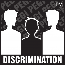 Discrimination content descriptor PEGI