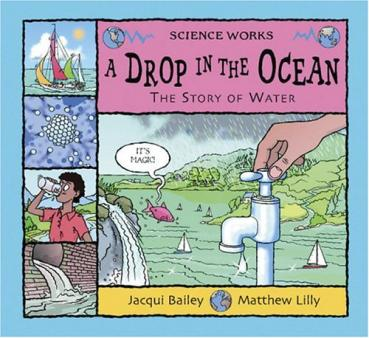books about the water cycle for children
