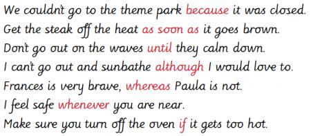 how to write long complex sentences fiction