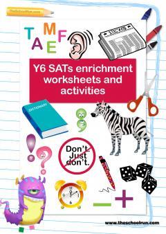 Year 6 sats revision worksheets pdf