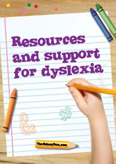 Resources and support for dyslexia